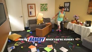 Bayley needs a Snickers!