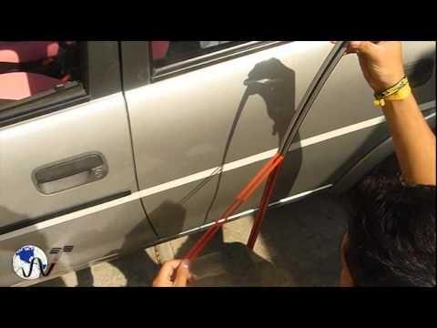 Como pegar marcos de puertas