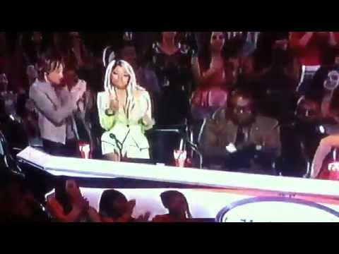 [HD] CURTIS FINCH JR. IS ELIMINATED!! AMERICAN IDOL 2013 -  LET'S SEE THE MOMENT march 14th 2013