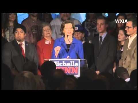 RAW VIDEO: Michelle Nunn Concession Speech