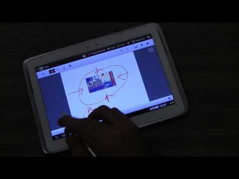Samsung Galaxy Note 10.1 N8000 / N8010 S-Pen Features and Demo