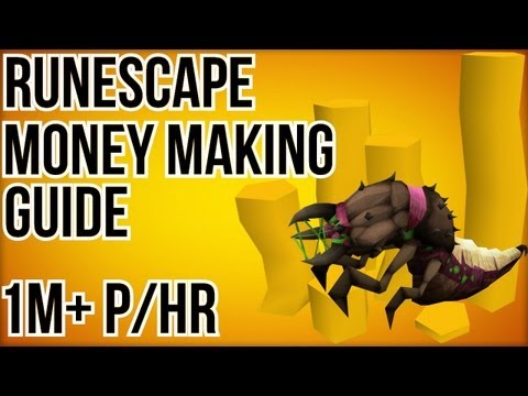 [RS] Runescape: Money Making Guide 66 | 800k – 1.2m p/Hr | Grotworms | Commentary