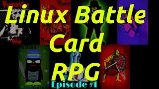 Linux Battle Card Game - Paladin Hatnix
