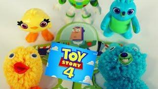 Disney Toy Story 4 Movie Creativity Craft Set! Bunny, Ducky, Buzz | Create Fun Clubhouse