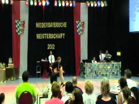Julia Geishauser & Patrick Pfaller - Niederbayerische Meisterschaft 2012
