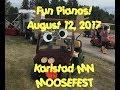 Fun Pianos! Dueling Pianos | Moosefest Karlstad MN 8/12/17