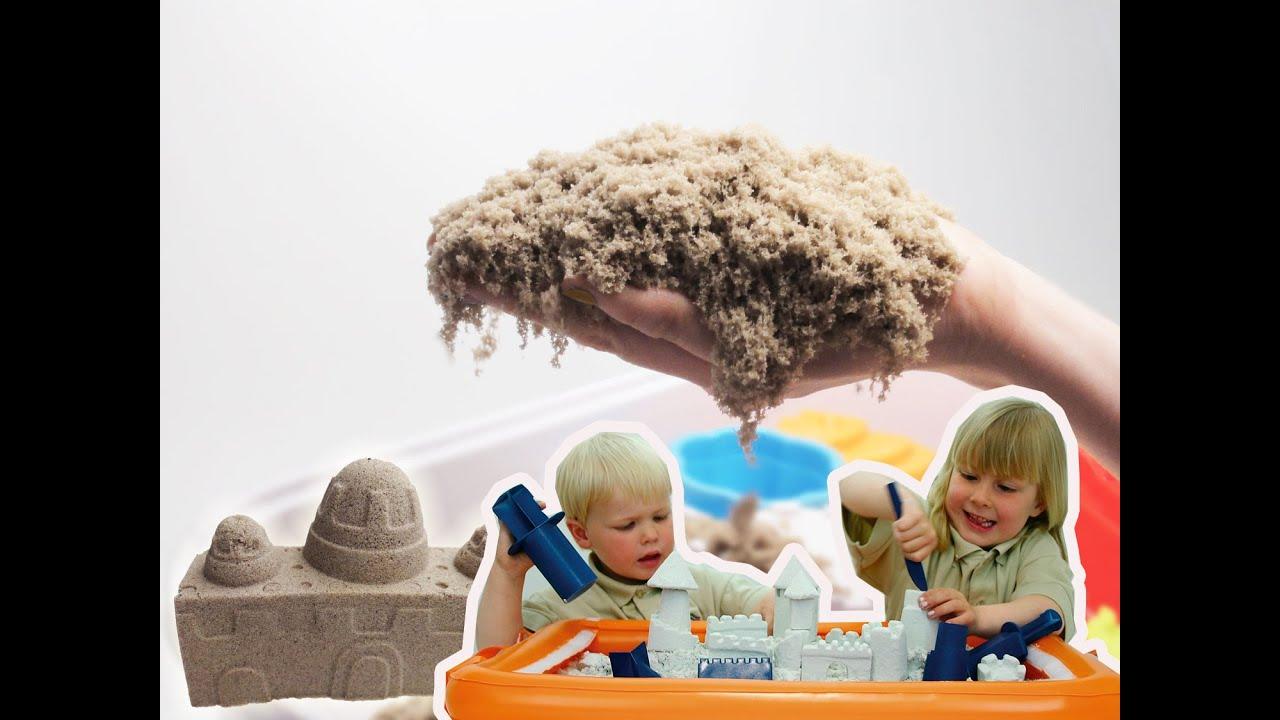 Живой песок своими руками