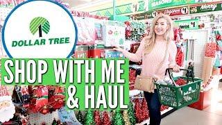 DOLLAR TREE SHOP WITH ME & HAUL CHRISTMAS 2018 | Love Meg