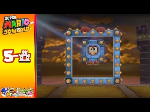 Super Mario 3D World: World 5-Castle King Kathunk's Castle