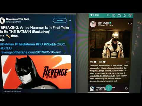 Zack Snyder Says Farewell to Ben Affleck and Armie Hammer Batman Rumors Trend