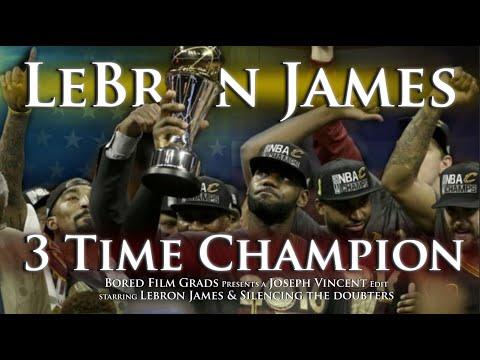LeBron James - 3 Time Champion
