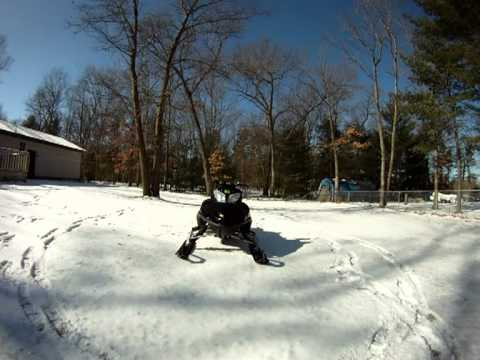 Arctic Cat f7 Seat Mod Gopro hd Arctic Cat Firecat f7