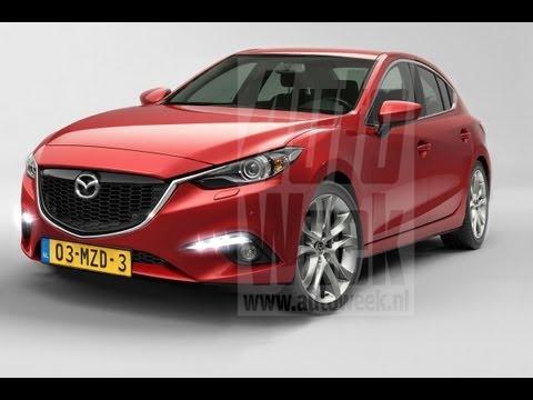 AutoWeek Journaal - Nieuwe Mazda 3 is al klaar