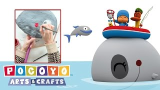 Pocoyo Arts & Crafts: Paper Whale  | CARNIVAL