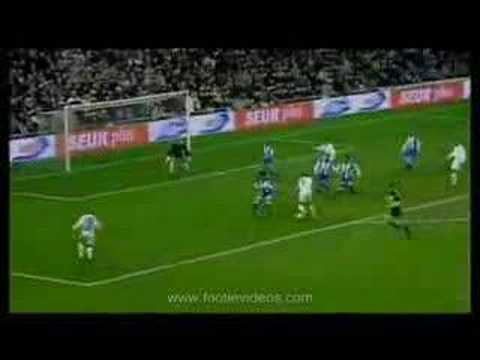 Zidane's top 10 goals Video