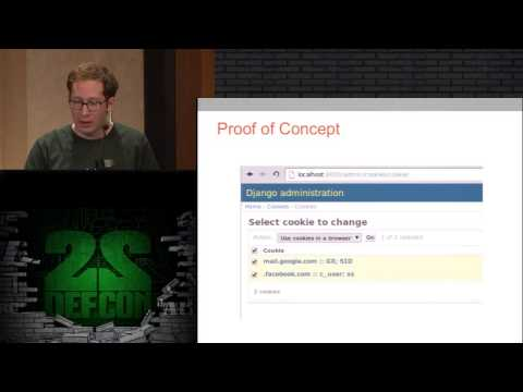 DEF CON 22- David Wyde - Client-Side HTTP Cookie Security: Attack and Defense