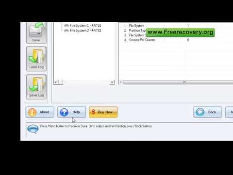 free recovery software data restore tool disk files repair utility freeware download retreival tools
