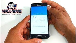 Remover conta Google no Galaxy J5 Prime SM-G570 G570M com hard reset