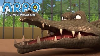 ARPO The Robot For All Kids - Angry Animals | 에피소드를보고 | 어린이를위한 만화 Videos For Kids
