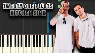 Twenty One Pilots - Kitchen Sink - [Piano Tutorial] (Synthesia) (Download MIDI + PDF Scores)