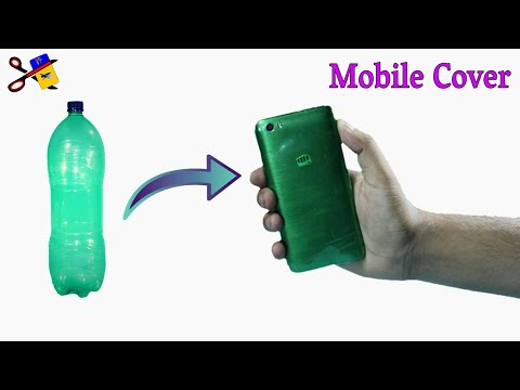 How To Make Mobile Cover At Home | Best Out Of Waste | DIY Phone Case With Plastic Bottle