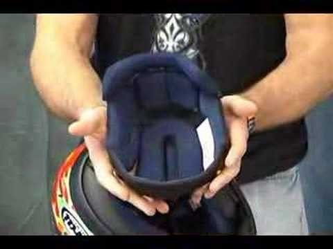 How to change the ARAI Helmet Shield from Sportbiketrackgear