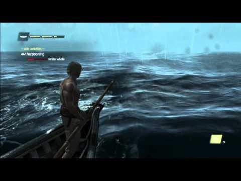 assassin's creed 4 black flag white whale اخيراً تم صيد الحوت الأبيض