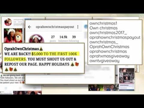 Oprah Winfrey Warning Social Media Fans Of Online Imposters