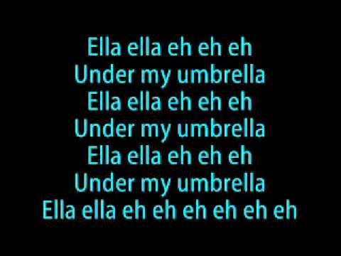 Rihanna   Umbrella lyrics   YouTube