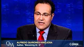 Alfredo Quinones-Hinojosa, Author, Becoming Dr. Q.