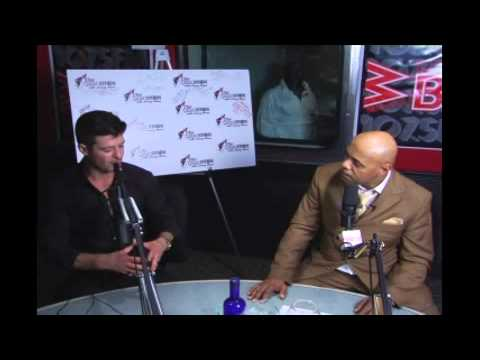 Robin Thicke in The Quiet Storm With Lenny Green
