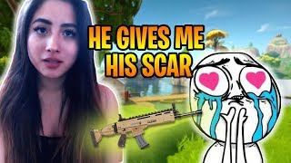 ADORABLE 8 year old kid GIVES me HIS SCAR & Teaches Me How To Play!!