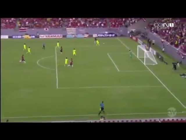 Bryan Ruiz Gol Costa Rica 1-Japón 3