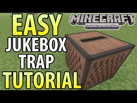 Minecraft (Xbox 360/PS3) - TU14 - EASY EXPLODING JUKEBOX TRAP - TUTORIAL klip izle