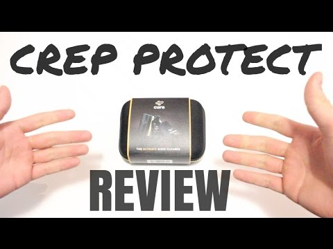HOW GOOD IS CREP PROTECT SHOE CLEANER?   Test and Review