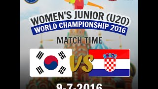 Республика Корея до 20 : Хорватия до 20