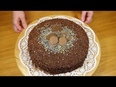 Шоколадный торт БРИГАДЕЙРО (!!!) очень вкусный. Бразильская кухня