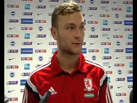 Ben Gibson on Brighton win and England exploits