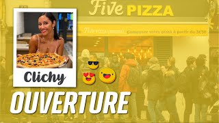 Ouverture du nouveau restaurant Five Pizza Original à Clichy