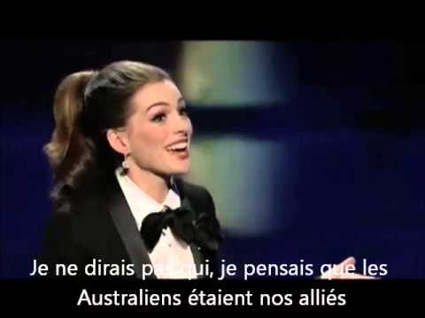 Oscars 2011 Anne Hathaway On My Own VOSTFR