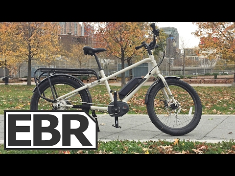 Benno Boost E 10D Video Review - Compact Cargo Ebike. Bosch Powered