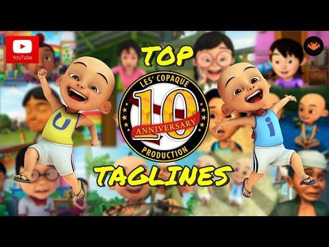 Upin & Ipin Top 10 - Taglines From Upin & Ipin Series