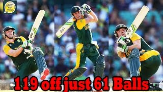 AB de Villiers Blasted 119 Runs Of Just 61 Balls Against India 5th ODI - SA 438-4 vs IND