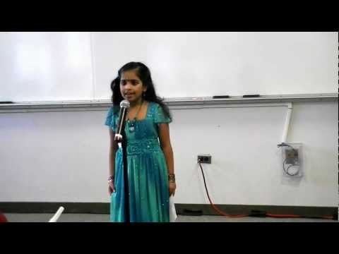 Kagw Talent Time 2012 - Non Classical Song (rajahamsame) By Shriya video
