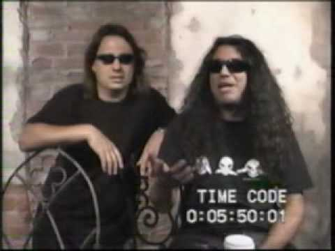 Slayer Interview for Concrete Tom Araya & Dave Lombardo part 1