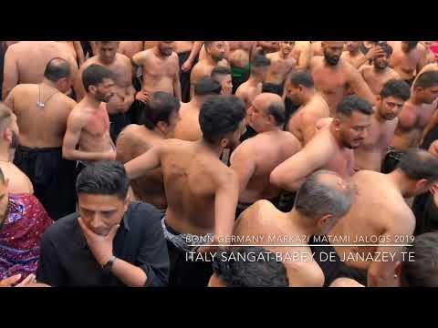 BONN GERMANY MARKAZI MATAMI JALOOS 2019 ITALY SANGAT