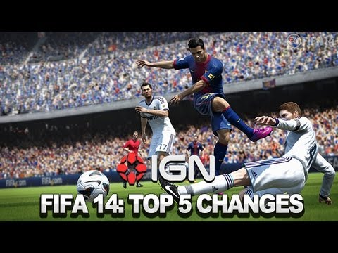 FIFA 14 Top 5 New Features