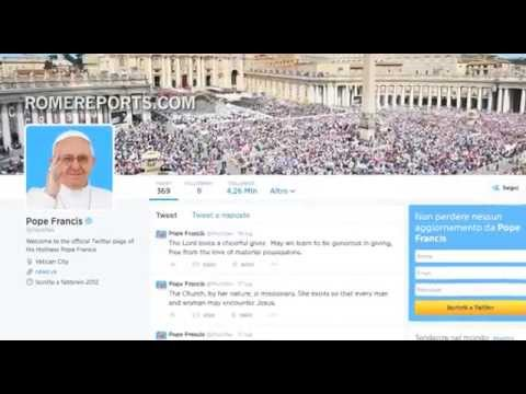 A look at the Pope's most popular tweets, so far