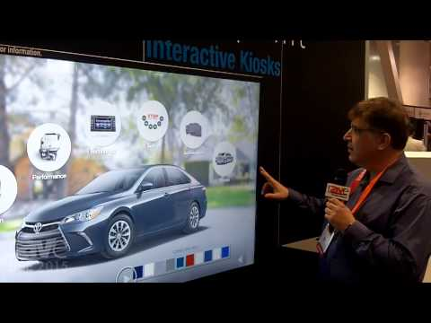 DSE 2015: Viewpoint Shows Interactive Kiosk