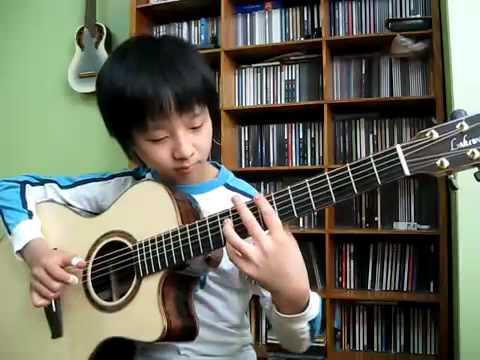 hotel california Korean kid guitar- Sungha Jung AMAZING !!